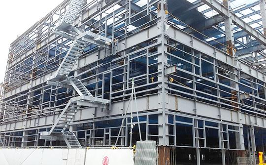 建築鉄骨の製造・施工