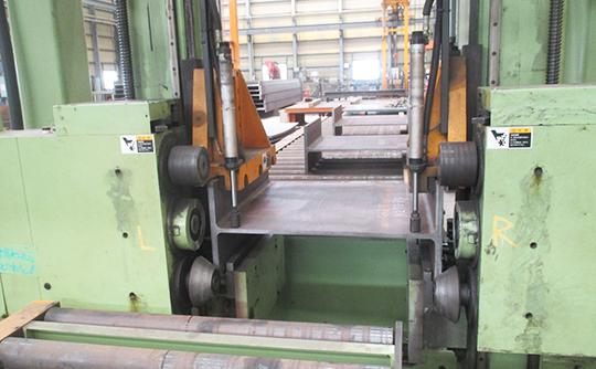 H形鋼自動開先加工機MHV-1050A